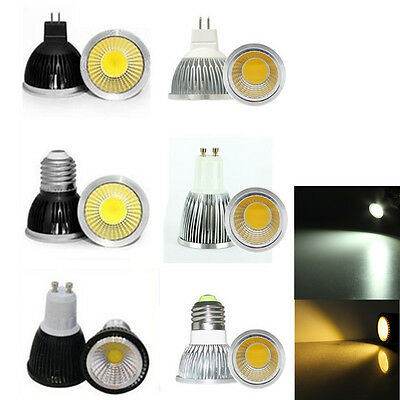 lampadina led mr : Lampadina E27/E14/GU10/MR16 LED COB Faretto Lampada 4W/6W/9W Bianco ...