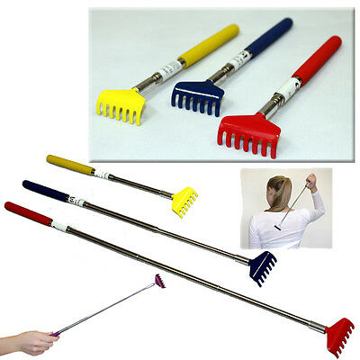 Extending Back Scratcher Extendable Massager Telescopic Long Reach Claw Portable
