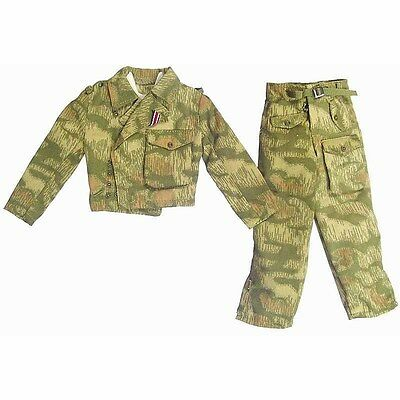 Uniform Set *STAINS* Cheong Target Training 1//6 Scale Dragon Action Figures