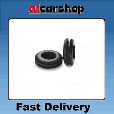 Wiring Cable Grommets Black Rubber  Pvc Grommet  6mm   PWG01 grommit