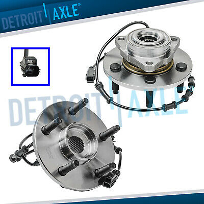 Pair (2) NEW Front Wheel Hub and Bearing Assembly 2002-2005 Dodge Ram 1500