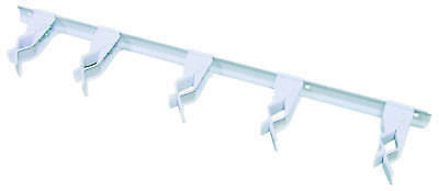 Clip Tool Storage Bar 17In Wht