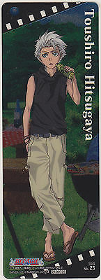 Bleach The Card Gum Bookmark Part 13 #23 Toushiro