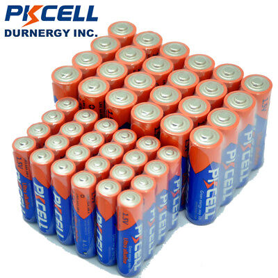 100 AA LR6 and 100 AAA Batteries Alkaline Bulk Long Lasting Cell 1.5V PKCELL