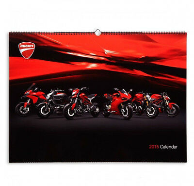 DUCATI Calendario 2015 Monster Multistrada Hyper STREETFIGHTER SUPERBIKE