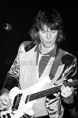 Chris Squire Yes Photo 8x12 or 8x10 inch Vintage '80s Live Concert Pro Print 25