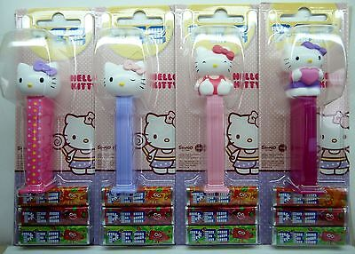PEZ  - HELLO KITTY 2015 set of 4 - Mint on Card (MOC) !