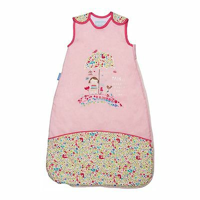 Bunny & Brolly Design 0-6m 1.0 Tog - Travel Grobag Baby Safe Sleeping Bag New