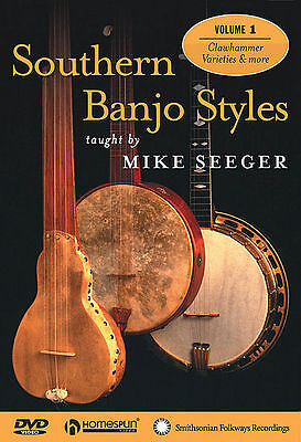 Southern Banjo Styles - Mike Seeger *new* 3 Dvd Set
