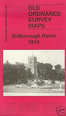 Old Ordnance Survey Map Aldborough Hatch 1914