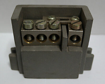 MEM Eaton Exel Bill 100Amp Fuse-Switch Disconnector Neutral Terminal Block 100A
