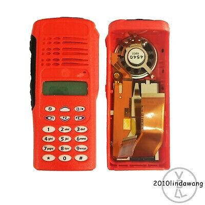 Red Replacement Housing Case Display For Motorola HT1250 Full-keypad Radios