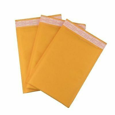 200 Gold Padded Mailing Bubble Envelopes  ( 90 x 145mm Internal Size ) MP1