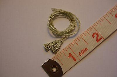 Pair of Mini Sage Green Tassels for your dollhouse
