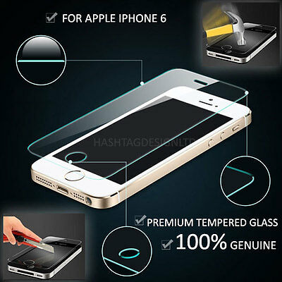NEW Genuine Tempered Glass Film Screen Protector For Apple iPhone 6 Plus