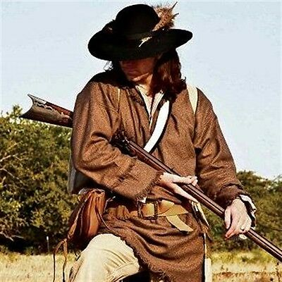Wool Pullover  Frock  Muzzleloading, Black Powder, Longhunter Reenactment