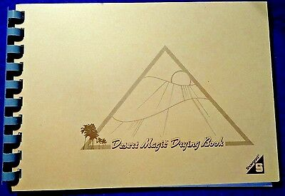 Small Stamp Drying Book, The Original Desert Magic By Showgard