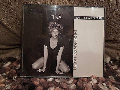 Tina Turner I Don't Wanna Fight RARE CD Single