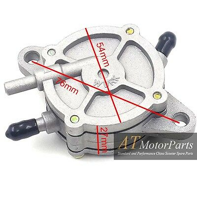 Gas Vacuum Fuel Pump Valve Petcock Switch for GY6 125cc 150cc Moped Scooter ATV