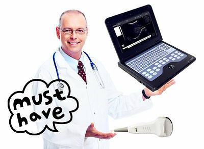 Full Digital Laptop/portable notebook Ultrasound Scanner/Machine System +Convex