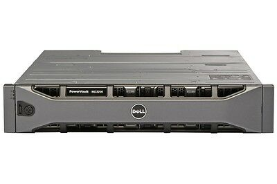 Baie Stockage SAS Dell MD3200 7.2 To  15K    12*600 Go Sas 15K