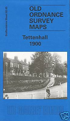 Map Of Tettenhall 1900 (Best Price On Ebay 12/9/15)
