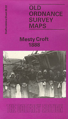 Old Ordnance Survey Map Mesty Croft 1888