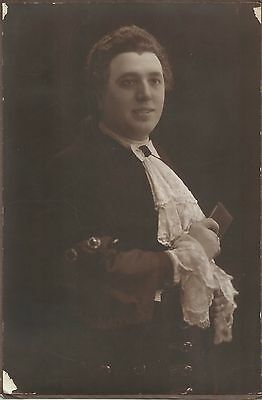 AURELIANO PERTILE Italian Tenor Original Vintage Photograph PORTRAIT