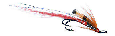 Salmon Fly,Alley´s Shrimp , Double Hook. (3-pack) Pick a size. Fly Fishing Fly