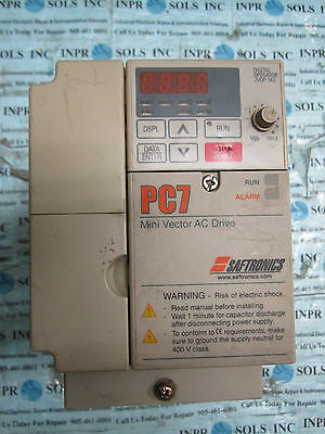 saftronics manual pc 7