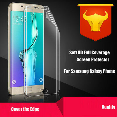 Full Coverage Screen protector for Samsung Galaxy S7 Edge 6 Plus/Edge Note