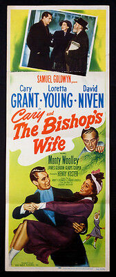 The Bishop'S Wife Cary Grant Loretta Young 1948 Insert