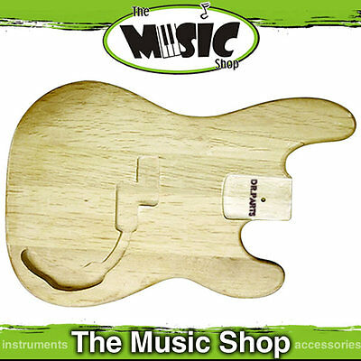 New DR Parts Precision Bass Guitar Style Alder Body - Sanded & Sealed - ZB502