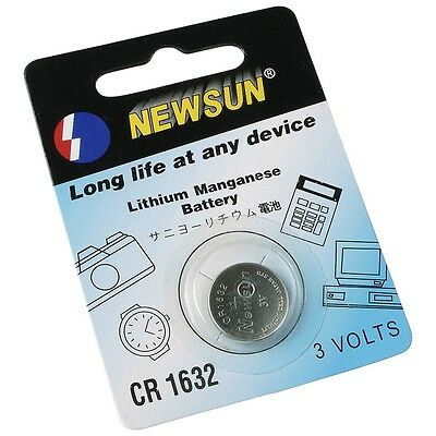 Batterie Knopfzelle Lithium 3V Battery