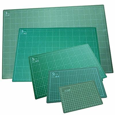 A3/A4/A5 Cutting Mat Non Slip Printed Grid Lines Knife Board Crafts Models New
