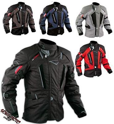 Motorbike Motorcycle Waterproof CE Armours Textile Touring Tex Jacket A-PRO