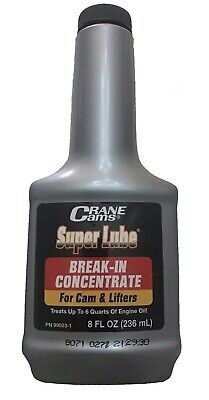 Camshaft Super Lube Anti Wear Oil Additive Break In Concentrate Crane 99003-1