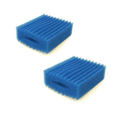 Twin Pack Oase Biotec Replacement Filter Foam 5.1/10.1 Blue Coarse Sponge Pond