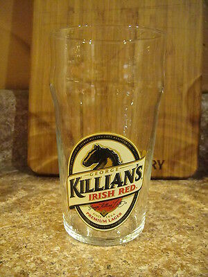 Killians Irish Red Lager Ale Beer Pint Glass Traditional Bass Guinness Shape