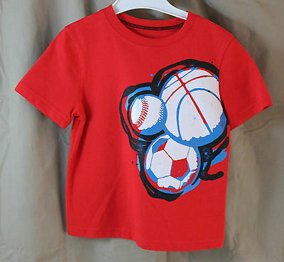 Jumping Beans, 3T, Red Balls Tee, New without Tags