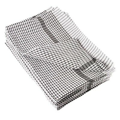 10X Vogue Wonderdry Tea Towels Kitchen Drying Dish Cleaning Cloths Cotton Pack