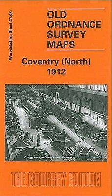 Old Ordnance Survey Map Coventry North 1912