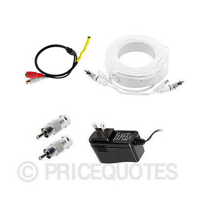 [100ft length] Microphone Kit for Samsung Surveillance Security System SDH-C5100