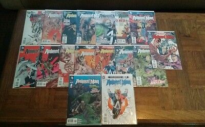 Animal Man New 52, Issues #1-15, plus issue 0 and the fist annual