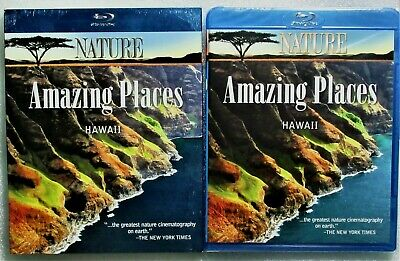 New GIFT Ready PBS Nature: Amazing Places: Hawaii WS BluRay DVD + Digital Copy