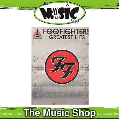 New Foo Fighters Greatest Hits Guitar Recorded Versions - Music Book