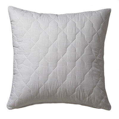 NEW Quilted European Pillow Protector Zip Closure Logan and Mason