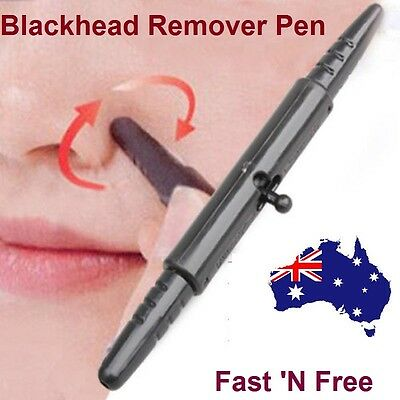 Blackhead Whitehead Comedone Acne Nose Pore Cleaner Extractor Remover Pen Stick