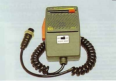 Zetagi M101 Voice Changer Power Microphone Cb Radio