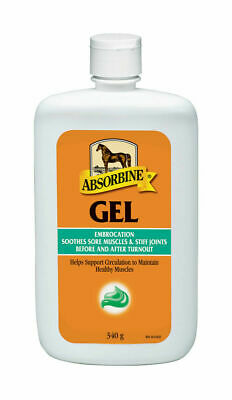 Absorbine Horse/Pony Liniment Veterinary First Aid Gel - Soothing Muscle Care